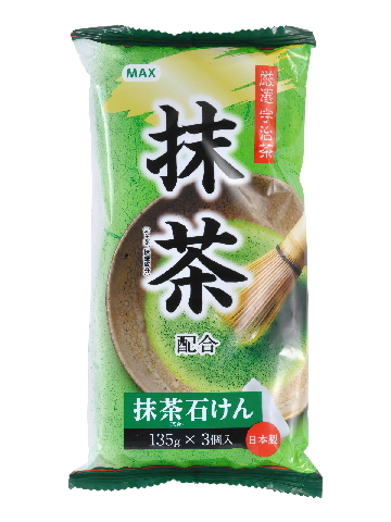 "041815 MAX SOAP Мыло туалетное ""Матча"", 135г*3"