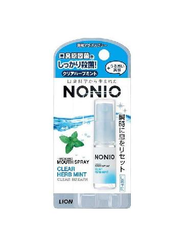 282020 LION Спрей для свежего дыхания с ароматом трав и мяты 5 мл