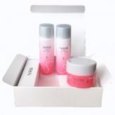 899669 Набор мини средств: Мицеллярная вода для очищения кожи лица, 18мл + Увлажняющий лосьон-эссенция для лица , 18 мл + Дневной крем: увлажнение и защи