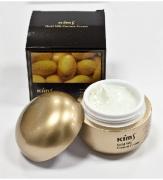 340500 Крем антивозрастной для лица с протеинами кокона шелкопряда Kims Gold Silk Cocoon Cream, 50 мл.