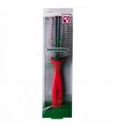 101618 Профессиональная щетка для укладки волос C-130, цвет ручки красный